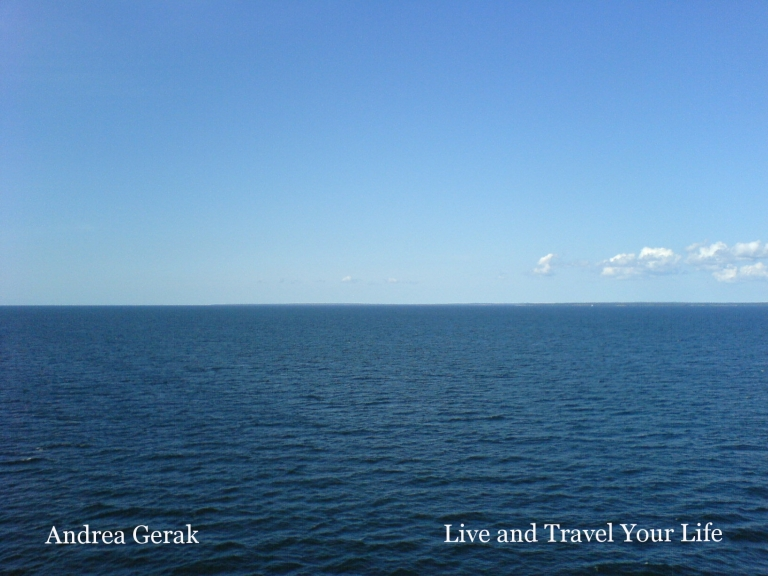 Essentials to life: water and salt. (Baltic Sea boat trip, Aug 2007)